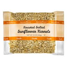 Roasted Unsalted Pumpkin Seeds Nutrition Facts by Roasted Salted Sunflower Kernels Nature U0027s Eats