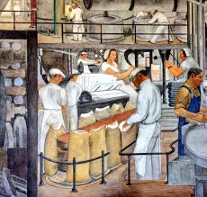 Coit Tower Murals Images by Paolo Lucchesi On Twitter