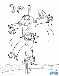 Pumpkin Patch Coloring Pages by Coloring Pages Of Scarecrows For Preschooers Coloring Home