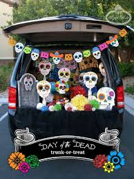 Day Of The Dead Trunk-or-Treat Ideas - Lynlees | Halloween ... Here Are 10 Fun Ways To Decorate Your Trunk For Urchs Trunk Or Treat Ideas Halloween From The Dating Divas Day Of The Dead Unkortreat Lynlees Over 200 Decorating Your Vehicle A Or Event Decorations Designdiary Any Size 27 Clever Tip Junkie 18 Car Make It And Love Popsugar Family Treat Halloween Candy Cars Thornton