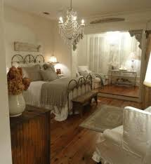 Cottage Bedroom Ideas by The Red Rose Decoration French Country Bedroom Wood Wall Paneling