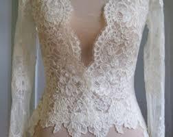 lace long sleeve etsy