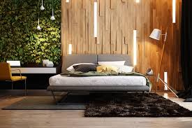 Full Size Of Decorating Ideas 19 Outstanding Botanical Wall And Wooden Planks Bedroom With Cool
