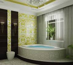 Tiling A Bathtub Skirt by Bathroom Tiles Creating Beautiful Modern Bathtub Covering And