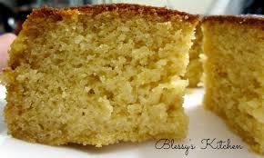Blessy s Kitchen Eggless Vanilla Cake