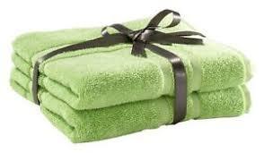 details zu badematten set badteppich badezimmerteppich 2 teilig baumwolle grün 50x70 cm