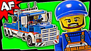 100 Lego City Tow Truck TOW TRUCK 60056 Stop Motion Build Review YouTube