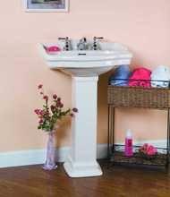 stanford 660 pedestal sink in white you remodel