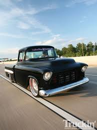 1957 Chevy Truck - 454 Big-Block Chevy Engine - Truckin' Magazine