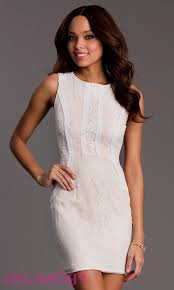 white short lace dress woman and more