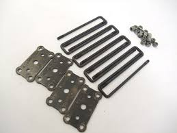 Tamiya Juggernaut Steel U-Bolts Leaf Springs 1/10 Monster Truck TXT
