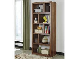 Open Bookcase by Signature Design By Ashley Lobink Contemporary Open Bookcase With