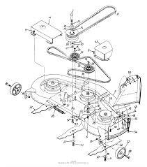 Craftsman Lt2000 Drive Belt Diagram by Cub Cadet Mower Deck Parts Diagram Radnor Decoration