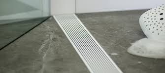 linear shower drains by infinity
