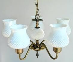 Hobnail Milk Glass Chandelier Antique Milk Glass Lamps Antique