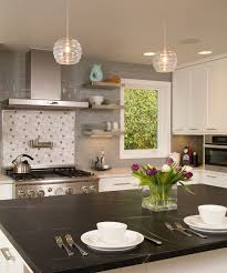 contemporary kitchen with flat panel cabinets by signature design