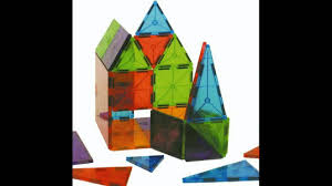 magna tiles clear colors 100 piece set youtube