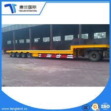 100 Truck Loader 3 China Low Bed Semi Trailer Used To Carrier Wheel
