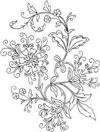 Free Printable Coloring Pages Flowers Pictures In Gallery Flower For Adults