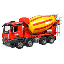 100 Bruder Cement Truck Amazoncom Mb Arocs Mixer Toys Games