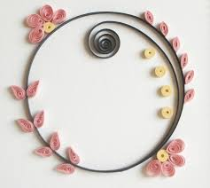 89 Best Quilling Borders Images On Pinterest