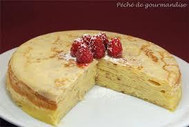gateau de crepes recette marmiton secrets culinaires gâteaux et