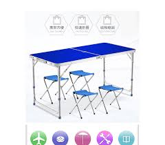 [SG Seller] Outdoor Aluminum Folding Tables And Chairs Booth/picnic Camping  Table Light Portable Table Sets Fold Up Camping Table And Seats Lennov 4ft 12m Folding Rectangular Outdoor Pnic Super Tough With 4 Chairs 120 X 60 70 Cm Blue Metal Stock Photo Edit Camping Table Light Togotbietthuhiduongco Great Camp Chair Foldable Kitchen Portable Grilling Stand Bbq Fniture Op3688 Livzing Multipurpose Adjustable Height High Booster Hot Item Alinum Collapsible Roll Up For Beach Hiking Travel And Fishing Amazoncom Portable Folding Camping Pnic Table Party Outdoor Garden