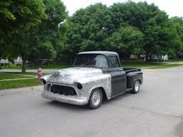 100 55 Chevy Trucks For Sale 19 Chevrolet 3100 AllSteel Pickup For Sale Hotrodhotline