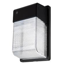 photocontrol mini led wall pack 28w 100w mh equivalent 5000k