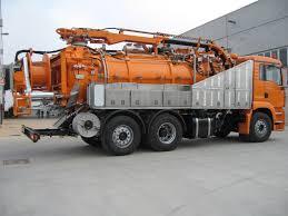 100 Sewer Truck Sewage Tuck Vacuum Trick Sewer Jetting Truck Jetter