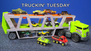 100 Matchbox Car Carrier Truck In Tuesday Transporter With Ten S YouTube