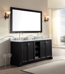 48 Inch Double Sink Vanity White by Ariel Westwood 73