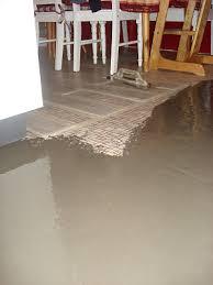 how can i prepare slightly uneven tiled floor for vinyl planks