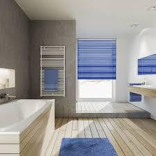 sonnenschutz für das badezimmer rollo plissee jalousien