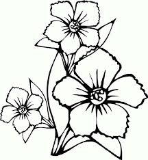 How To Draw Flower Coloring Page