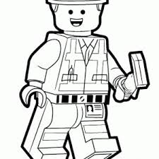 Lego Movie Coloring Pages To Print Sketch Page