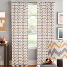 better homes and gardens chevron curtain panel walmart com
