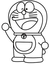 Doraemon Coloring Pages Printable Picture