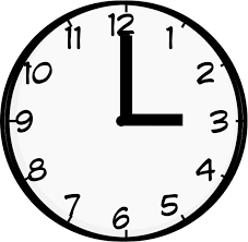 3 O Clock Clip Art at Clker vector clip art online royalty