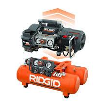 RIDGID Tri Stack 5 Gal Portable Electric Steel Orange Air