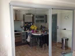 separation cuisine salon vitr cloison cuisine salon avec etude et fabrication baie vitr e s