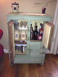 My Mini Bar At Home! Got The Antique Ice Box At A Garage Sale ... Best 25 Locking Liquor Cabinet Ideas On Pinterest Liquor 21 Best Bar Cabinets Images Home Bars 29 Built In Antique Mini Drinks Cabinet Bars 42 Howard Miller Sonoma Armoire Wine For The Exciting Accsories Interior Decoration With Multipanel 80 Top Sets 2017 Cabinets Hints And Tips On Remodeling Repair To View Further 27 Bar Ikea Hacks Carts And This Is At Target A Ton Of Colors For Like 140 I Think 20 Designs Your Wood Floating