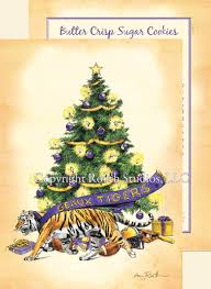 Geaux LSU Christmas Cards