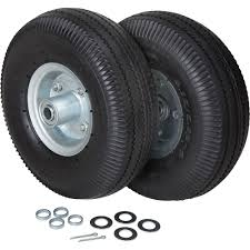 100 Hand Truck Tires Ironton FlatFree Tire Kit 12Pcs 300Lb Capacity