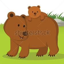 Mother And Baby Animal Clipart 59