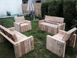 Pallet Wood Patio Chair Plans by Diy Beefy Pallet Benches And Chairs