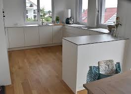 küche in weiß matt