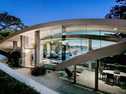 100 Contemporary Glass Houses Family Mansion Tree House Wall Floor Modern Ocean With