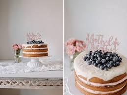 blaubeeren zur geburt ein drip cake für mathilda