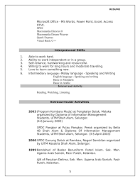 100 Extra Curricular Activities For Resume Curricular Lovely Elegant